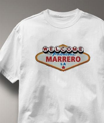 Cool! Marrero Louisiana LA Shirt