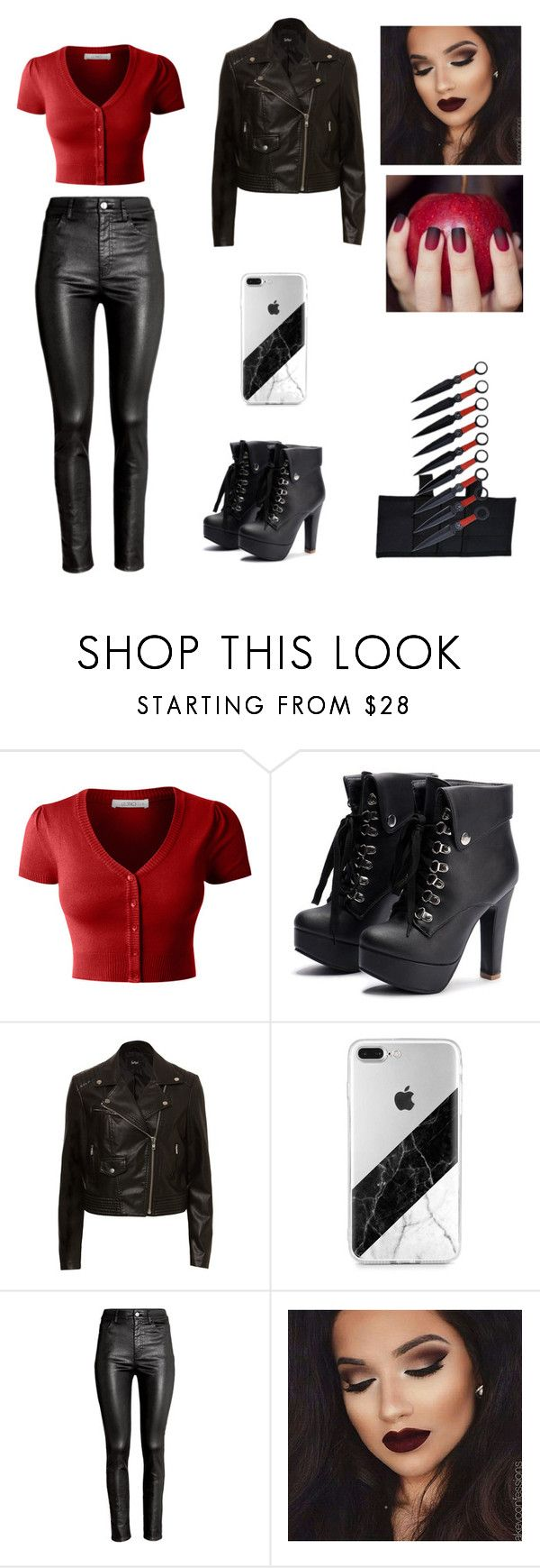"""""""Divergent: Dauntless"""" by airrika on Polyvore featuring LE3NO and H&M"""