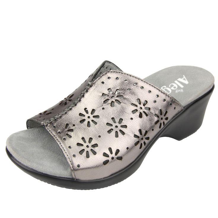 Alegria Shoes - Sasha Uptown Pewter Sandal, $109.95 (http://www.alegriashoes.com/products/sasha-uptown-pewter-sandal.html)