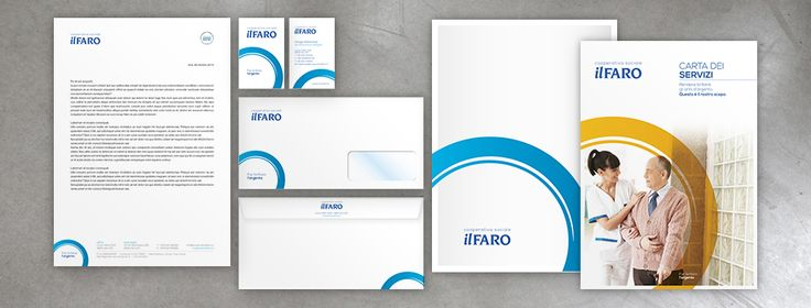 New Brand Identity for Il Faro - by #OsnBrandVoice #BrandIdentity #Stationary #CommunicationDesign