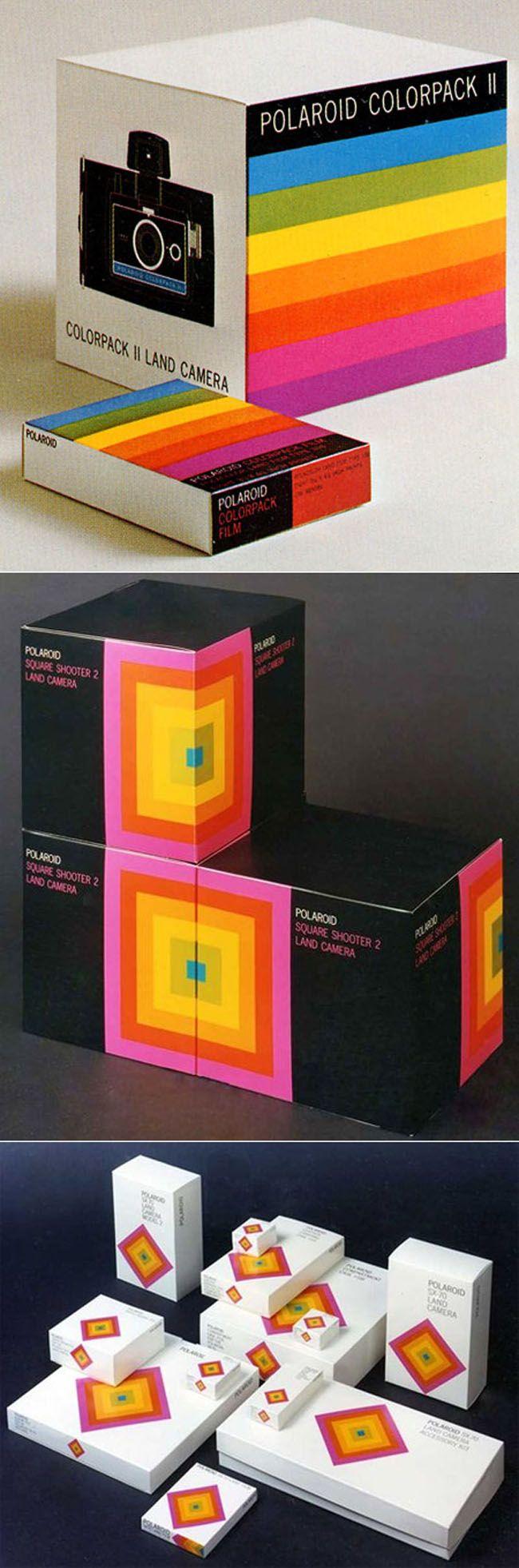1960's Polaroid branding by Paul Giambarba PD