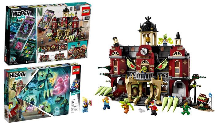 Best Sides For Christmas 2020 LEGO Hidden Side School 70425 Review | Top christmas toys