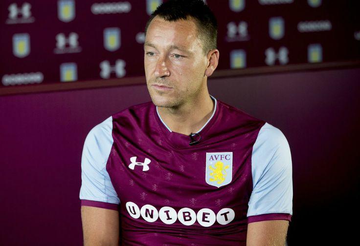 Resmi Berseragam Aston Villa, Ini Janji John Terry di Villa Park