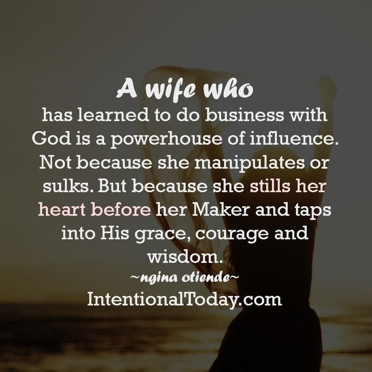 Your power is not in who you are, but Whose you are. Tap into God's immense resources and watch transformation flow to your marriage. Here are tips to help you positively influence your husband and marriage