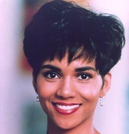 the young Halle Berry