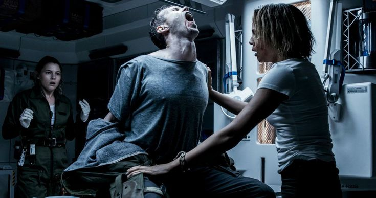 New Alien: Covenant Photos Tease a Terrifying Backburster Birth -- Following the release of the much-anticipated trailer, 20th Century Fox has unveiled more images from Alien:Covenant and they're pretty scary. -- http://movieweb.com/alien-covenant-photos-chestburster-neomorph-backburster/