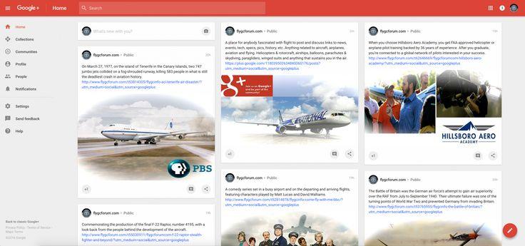 flygcforum.com ✈ GLOBAL CONNECTIONS ✈ Everything Aviation - Google+ ✈
