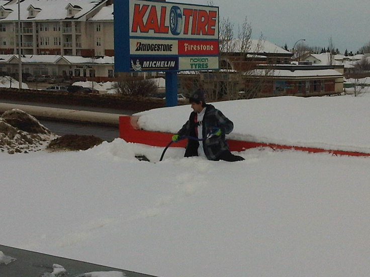 29 Best Images About Edmonton Roof Snow Removal On