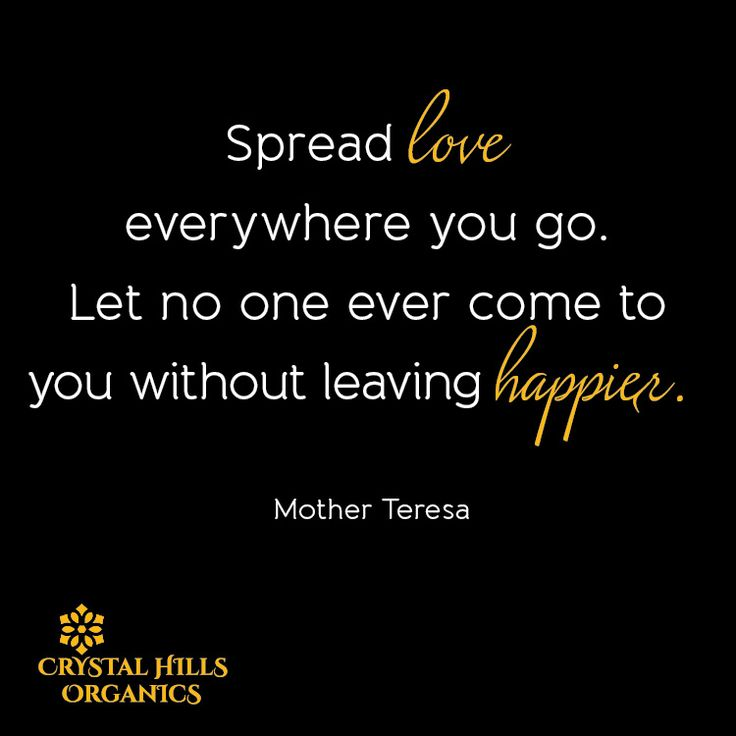 Love this quote by Mother Teresa.