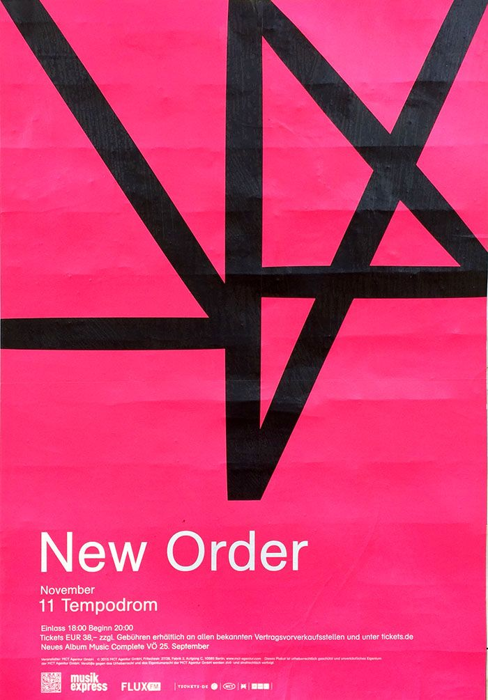 New Order at Tempodrom – found in Mitte
