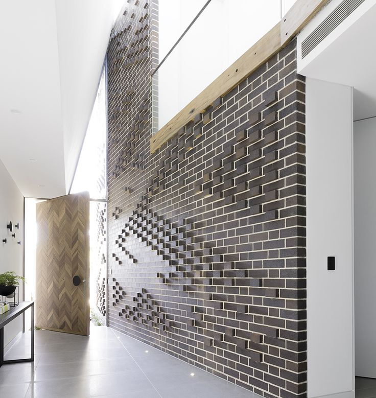 PGH Bricks & Pavers | Professional | Case Study | Dry pressed feature walls add dramatic impact to a Sydney home