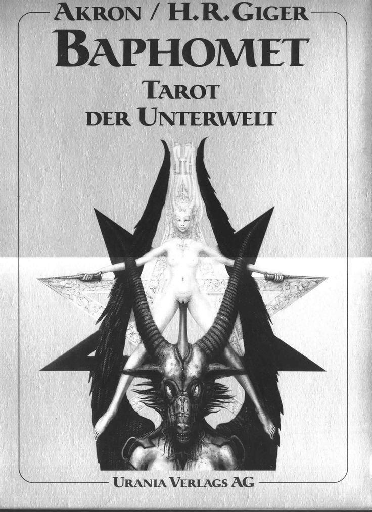 H.R. Giger - Baphomet Tarot