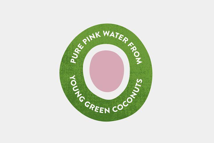 Unoco Raw Coconut Water by B&B Studio, 2015. Scope: #branding