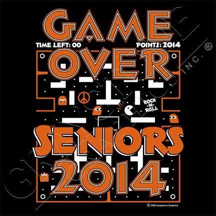 Graystone Graphics Inc. Senior Class Shirt Design...this is awesome!!! xD...SENIOR 2014 OH YA!!! xDDD