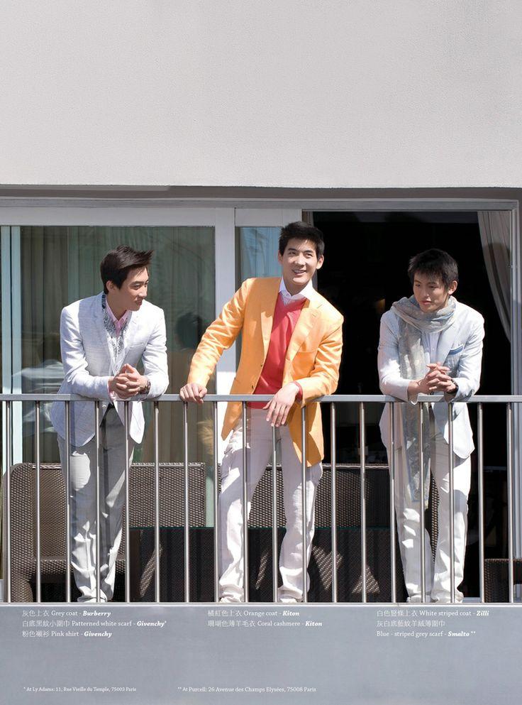 Men, Fashion, Shooting, Asian, outfit, trends, Shen Yun Cast...