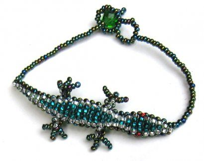 Lizard Bracelet from 2okeefes.com $10