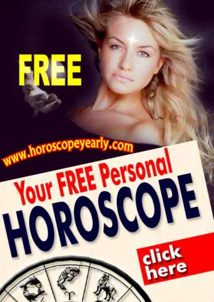 Free Personal Horoscope -  Live to your fullest potential. Your birth chart is a map of the stars' alignments at the exact moment you were born, which reveals your areas of greatest potential and your unique personality characteristics. Find out how the planets' positions at your birth influence your entire life, from your relationships to your finances and much more... Get Details: http://www.horoscopeyearly.com/get-free-daily-horoscopes/