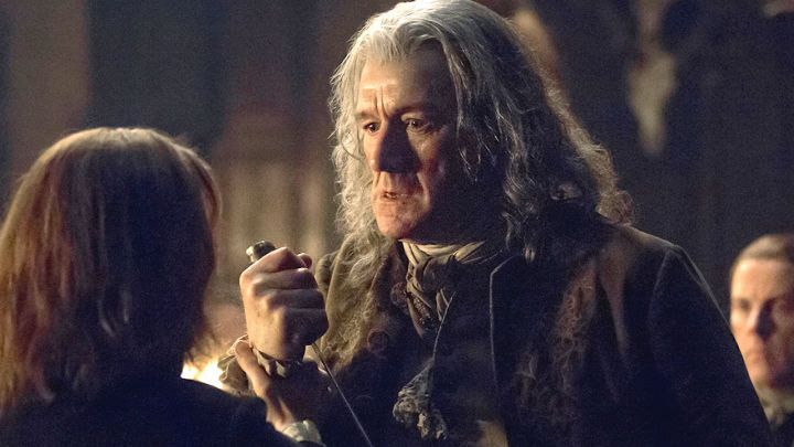 Clive Russell as Lord Lovat on Outlander: Brilliant actor!