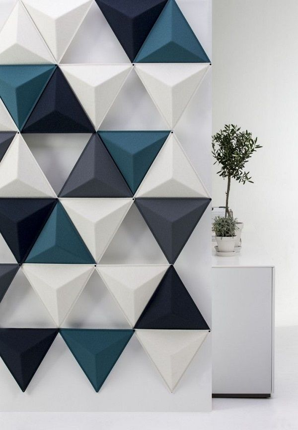 Decorative soundproofing wall panels