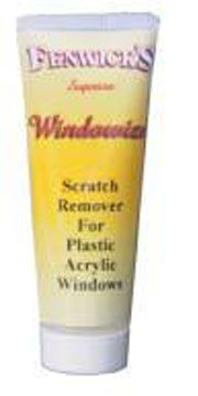 Fenwicks Windowize Scratch Remover - Fenwicks Exterior Cleaning Products http://www.leisureshopdirect.com/caravan/home/product_18615/fenwicks_windowize_scratch_remover.aspx