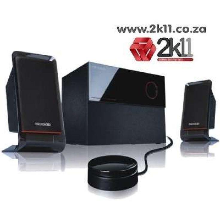 Microlab M200, 2.1-channel subwoofer speaker