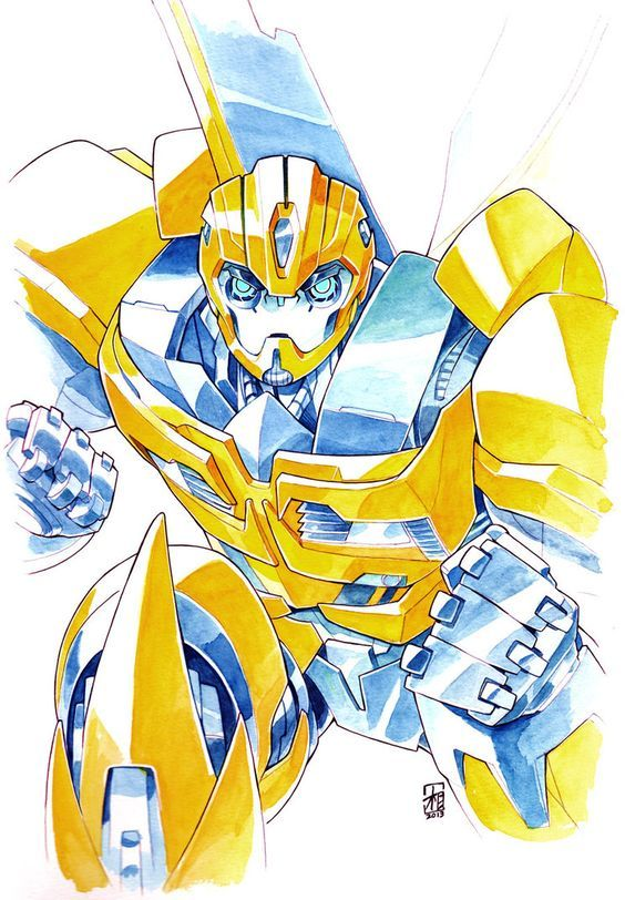 Bee by ai-eye on deviantART (We gonna have this guy in the upcoming series!!):