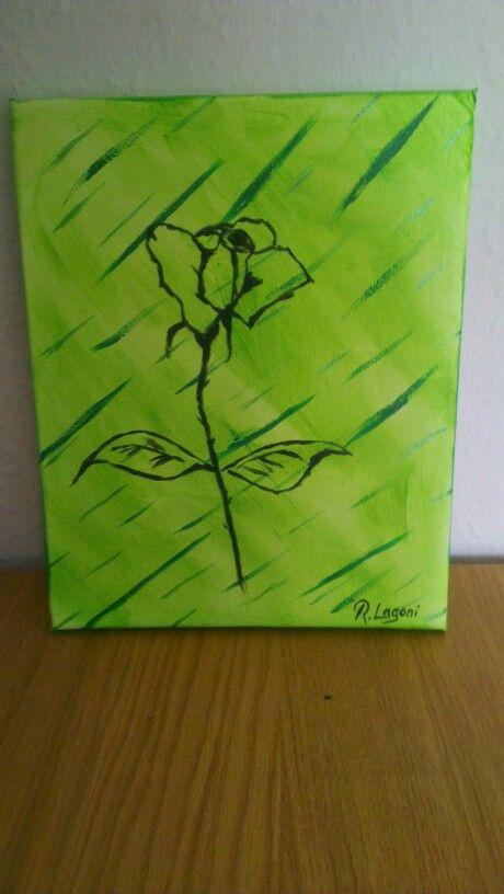 Green - Rose