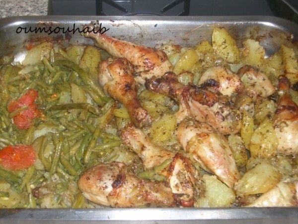 Pilons de poulet express au four et ses pommes de terre fondantes!!