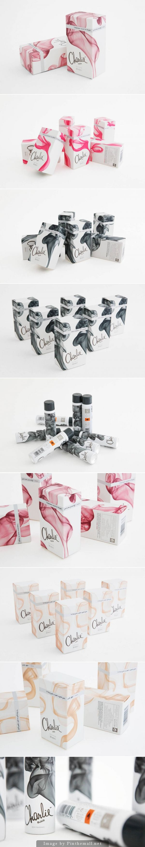 Charlie #packaging in different color renditions PD