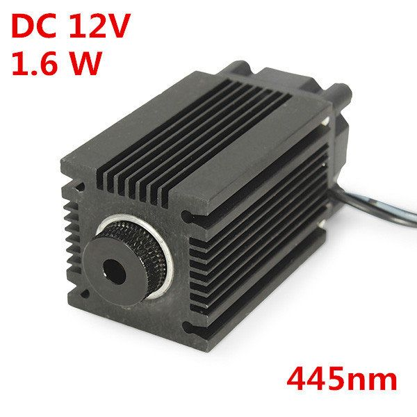 EleksMaker® LA03-1600 445nm 1600mW Blue Laser Module With Heatsink For DIY Laser Engraver Machine Sale - Banggood Mobile