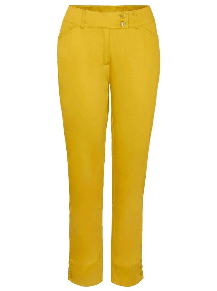 Bright yellow trousers add some sunshine to an outfit £45 via #SnapFashion