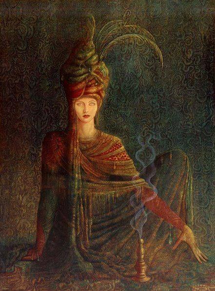The Priestess - by Hernan Valdovinos. ~Gathering~