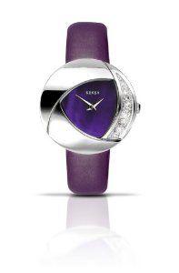 SEKSY by SEKONDA - 4529.37 - Montre Femme - Quartz - Analogique - Bracelet Cuir Violet