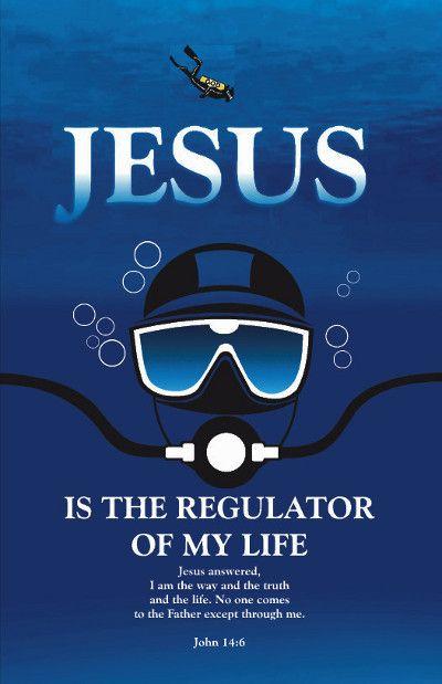 Brochure for Worldwide Christian Scuba Divers Organization