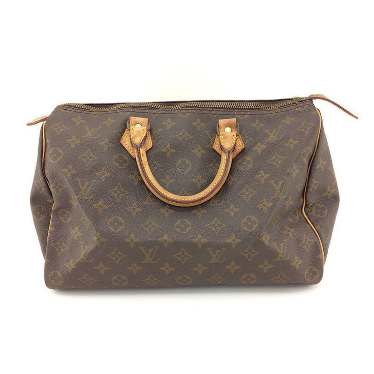 Auth Vintage Louis Vuitton Monogram Canvas leather Speedy 30 HandBag | Clothing, Shoes & Accessories, Women's Handbags & Bags, Handbags & Purses | eBay!