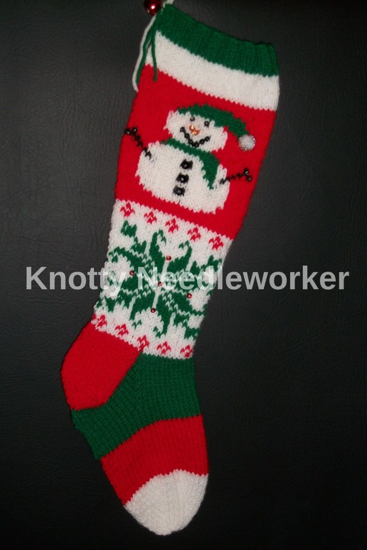23 best christmas stocking knitting patterns images on pinterest printed chart only 2 in 1 let it snow hand knitted christmas stocking pattern by bankloansurffo Choice Image