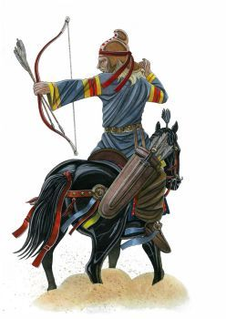 Parthian horse archer at the battle of Carrhae by AMELIANVS