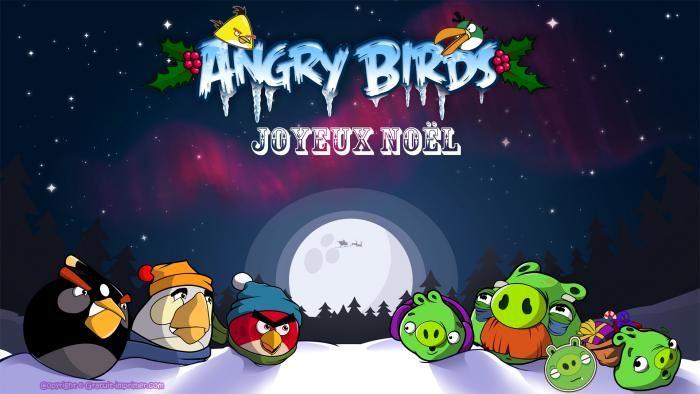 Les 62 meilleures images du tableau noel sur pinterest - Angry birds noel ...