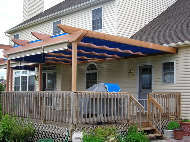 This Western Red Cedar Pergola Makes A Nice Addition To An