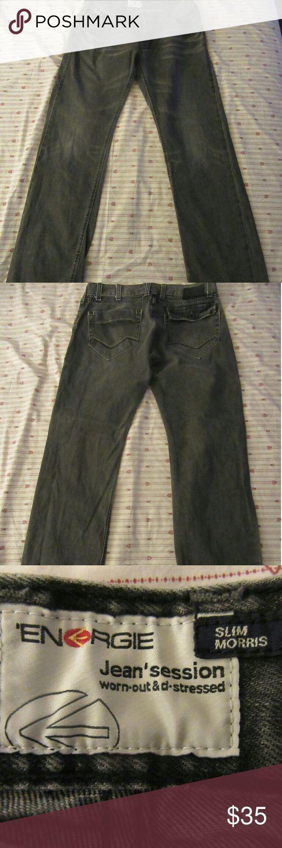 mens energie slim morris jeans 34x34 good shape  mens energie slim morris jeans 34x34 Energie Jeans Slim