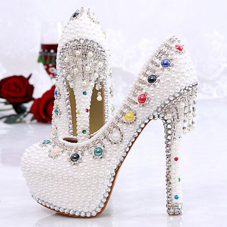 Newest Style Luxury Sparkling Crystal Rhinestone Tassels Platform Ultra High Heels Women's Shoes //Price: $140.68 & FREE Shipping //http://likeadiamondworld.com/newest-style-luxury-sparkling-crystal-rhinestone-tassels-platform-ultra-high-heels-womens-wedding-shoes-ivory-pearl-pumps/