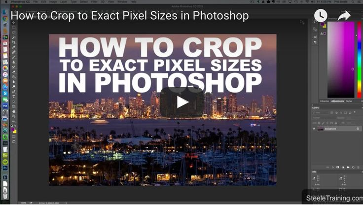 How To Crop To Exact Pixel Size Using Photoshop – With Phil Steele #photography #photoshop https://digital-photography-school.com/crop-pixel-size-photoshop-phil-steele/