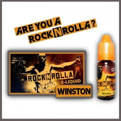 ROCKNROLLA Winston 10ml. Find out more in www.nexxton-ecig.com