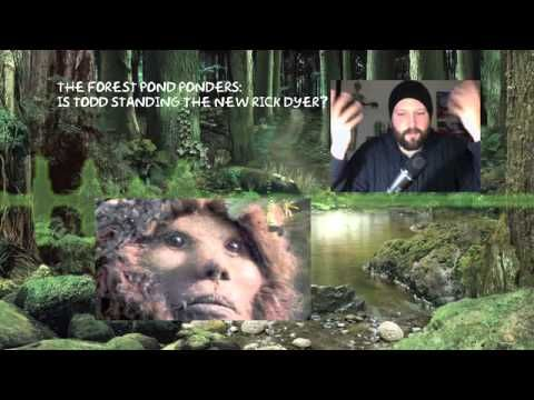 The Todd Standing Bigfoot Footage - YouTube