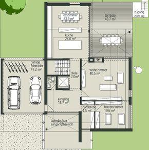 Nice ÖKO ARCHITEKTENHAUS Villa 12 Roma Grundriss Erdgeschoss