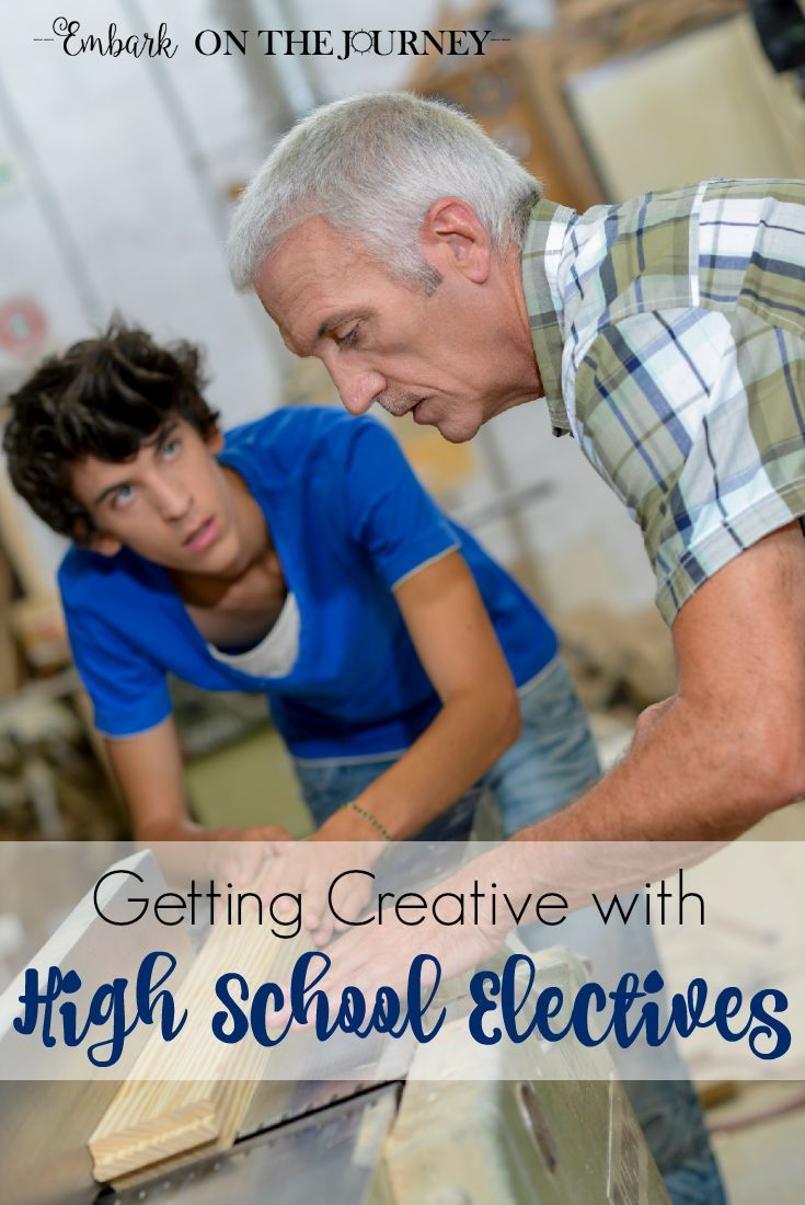 Homeschoolers have a unique opportunity to get creative and think outside the box when it comes to assigning credits for high school electives. Come explore that thought with me. | embarkonthejourney.com