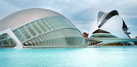 City Museum of Arts & Science, Valencia, Spain.
