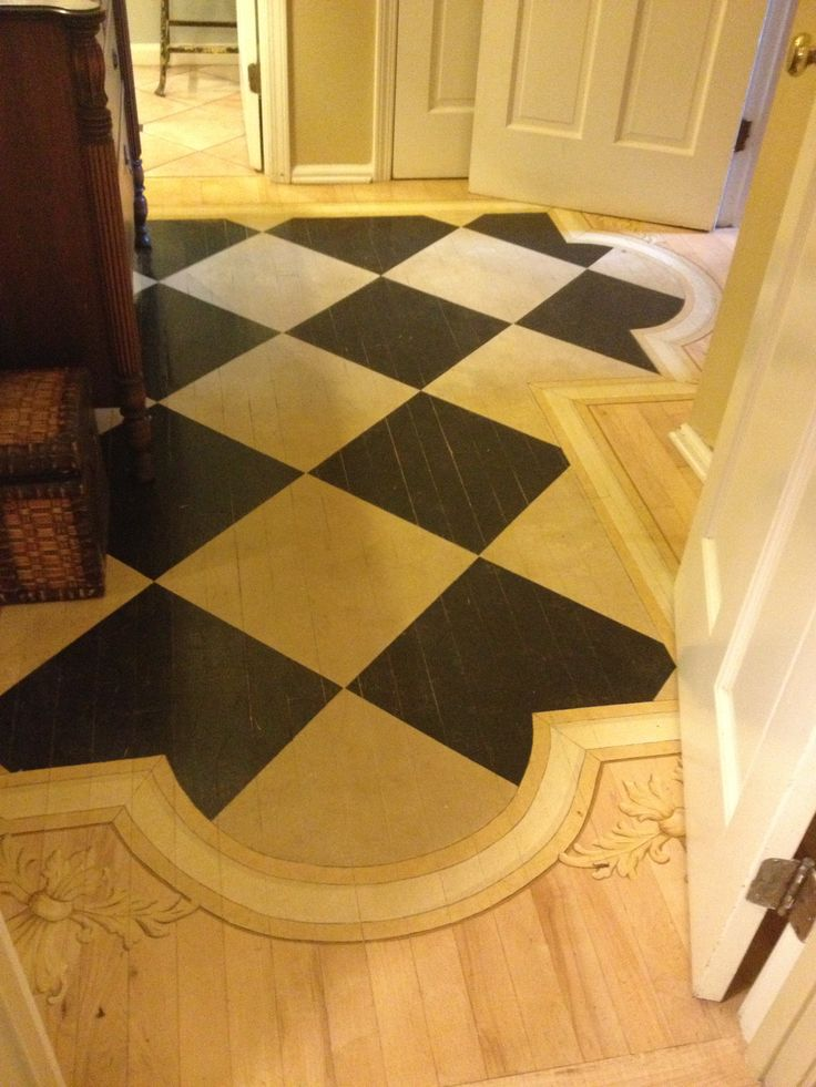 143 Best Decorative Painted Wood Floors Images On