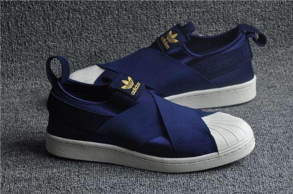 best service 6b11d 8dd6d Adidas Superstar Slip On Navy | Shoes in 2019 | Adidas ...