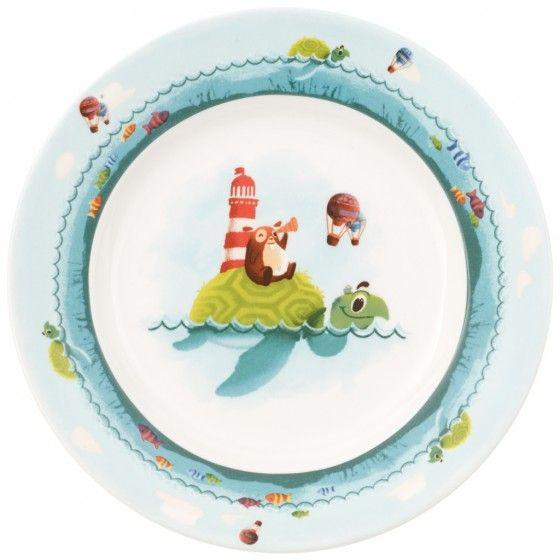 Villeroy & Boch Chewy around the world Children flat plate 22cm. Sandefjord glassmagasin er en av mange butikker som har denne serien.